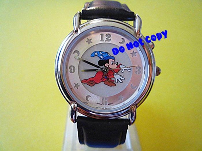 NEW Disney Mickey Mouse Fantasia Sorcerer Lumibrite Watch