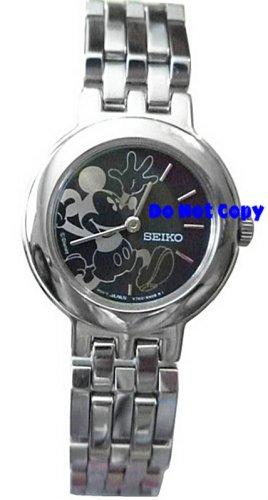 NEW Ladies Disney Mickey Mouse PIE-EYED SEIKO Watch
