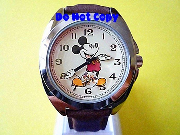 NEW Mens Disney/Seiko Mickey Mouse Subdial Watch HTF Vintage