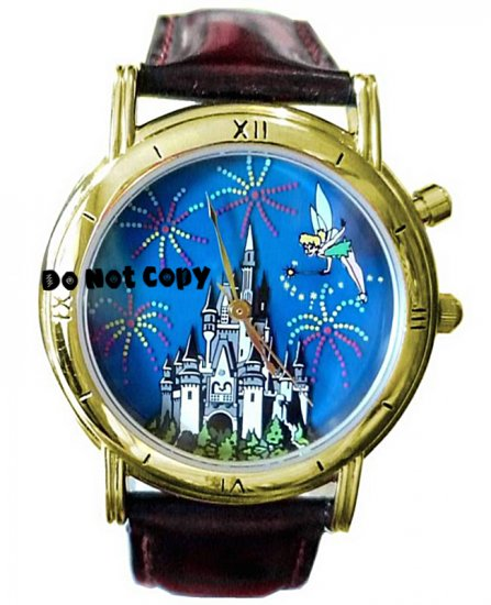 NEW Disney Tinkerbell 25th Fireworks Lights-Up Watch HTF
