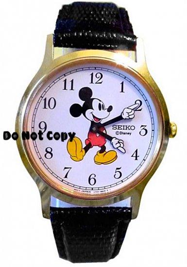 BRAND NEW Disney Mens Mickey Mouse SEIKO Watch HTF