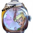 BRAND NEW Disney Tinkerbell Italian Charm Watch HTF