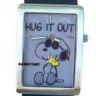 NEW Mens Armitron Snoopy & Woodstock Peanuts Watch HTF