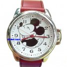 NEW Men Disney Mickey Mouse American Cheese Large Watch