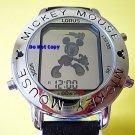 Mens Disney Lorus Mickey Mouse Dancing Music Silv Watch