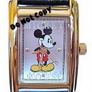 BRAND NEW Disney Mickey Mouse Leather Watch HTF Retired