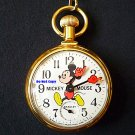 NEW Vintage Disney Bradley Mickey Mouse Pocket Watch