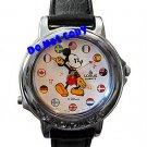NEW Disney/Lorus Mickey Mouse Musical Unisex Silv Watch