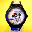 BRAND NEW Disney Sporty Mickey Mouse Baseball Watch HTF