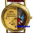 NEW Disney Mickey Mouse Sorcerer Fantasia Watch Limited Edition  HTF