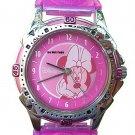 BRAND NEW Disney Minnie Mouse Pink Watch HTF