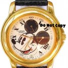 NEW Disney Lorus Men Mickey Mouse Chronograph Watch HTF