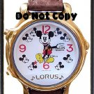 NEW Disney Lorus Mickey Mouse Musical/Melody Watch HTF