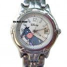 BRAND NEW Ladies Disney Eeyore Silver Date Watch HTF