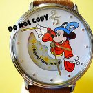 NEW Disney Mickey Mouse Fantasia Sorcerer 25th Watch