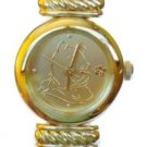 NEW Disney Winnie The Pooh Gold Watch Silhouette HTF