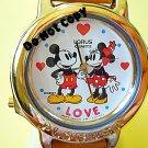 NEW Disney/Lorus Mickey & Minnie Mouse Beatles Watch