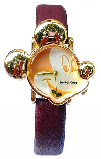 NEW Disney Mickey Mouse Shaped Watch MU0729 Retired