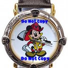NEW Mens Disney Mickey Mouse Fireman Firefighter Watch