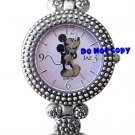 NEW Vintage Disney/Jaz Mickey Mouse Marcasite Watch HTF