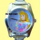 NEW Disney Sleeping Beauty Aurora Italian Charm Watch