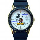 MINT Disney Mickey Mouse SEIKO Date Sport Watch HTF