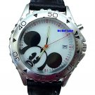 NEW Men's Disney Mickey Mouse Date Lights Up LTD Watch
