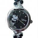 BRAND NEW Ladies Disney Mickey Mouse Black Icons Watch
