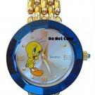 BRAND NEW Ladies Armitron Flirt Tweety Gold Watch HTF