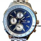 NEW Men's CTI Tachymeter Chronograph Sports Blue Watch
