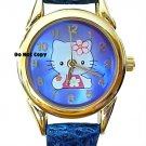 BRAND NEW Hello Kitty Blue Dial Watch