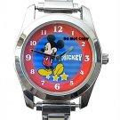 BRAND NEW Disney Mickey Mouse Italian Charm Watch HTF