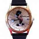 NEW Disney Mickey Mouse Date SEIKO Starburst Tux Watch