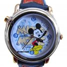 NEW Disney Lorus Mickey Mouse Musical Snapping Watch