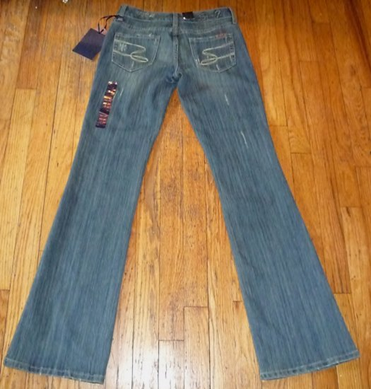 NWT Seven 7 Sexy Flare Premium Blue Jeans Size 3 or 25