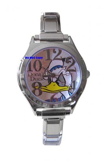 NEW Disney Donald Duck Italian Charm Watch
