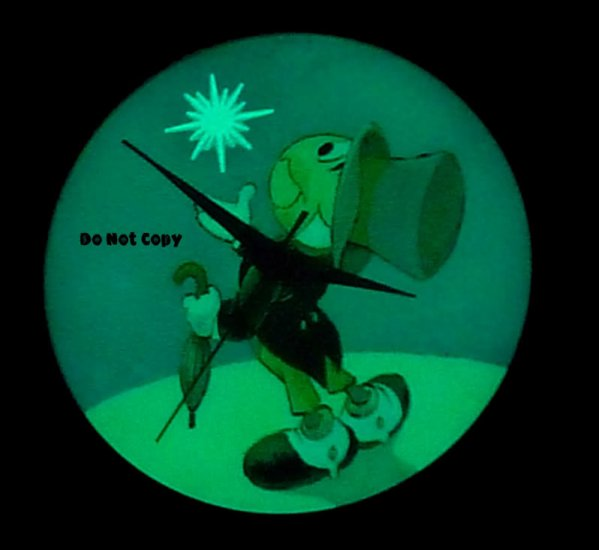 NEW Disney JIMINY CRICKET Upon Star Lights Up Watch LTD
