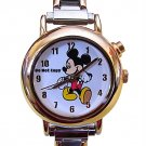 NEW Disney Mickey Mouse Italian Charm Musical Watch HTF