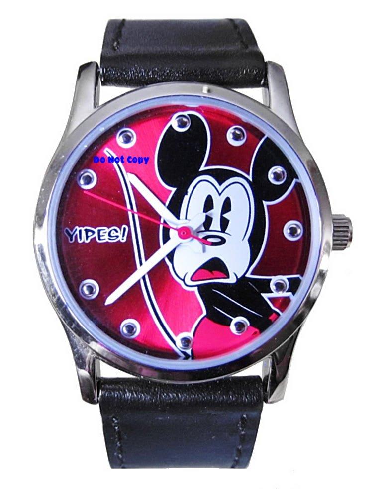 BRAND NEW Disney Mickey Mouse YIPES SII Watch HTF
