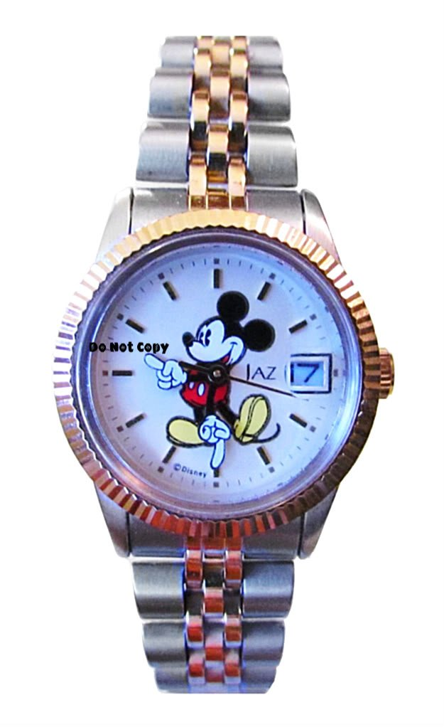 BRAND NEW Ladies Disney Jaz Mickey Mouse Date Watch HTF