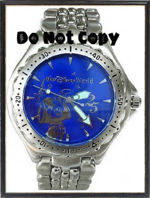 Disney Ladies Mickey Mouse Fantasia Sorcerer Watch LTD
