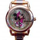 NEW Disney Minnie Mouse Golf Italian Charm Watch HTF