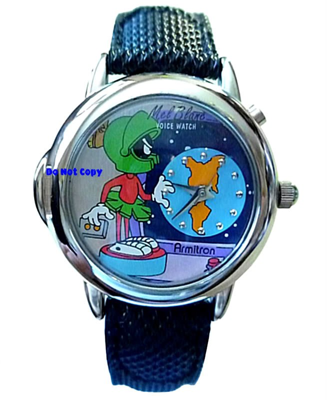 NEW Ladies Armitron Marvin The Martian Mel Blanc Watch