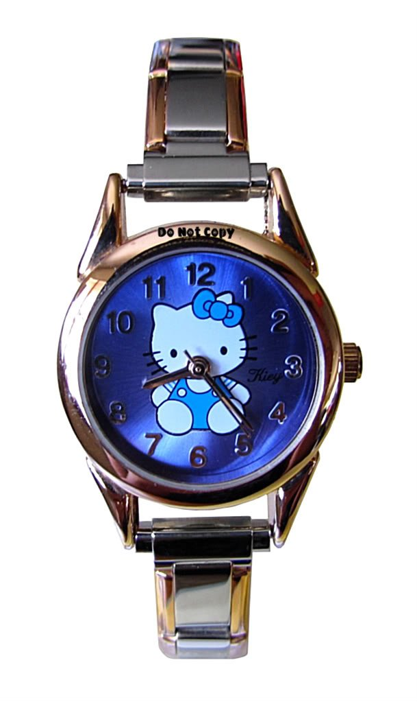 BRAND NEW Hello Kitty Blue Italian Charm Watch