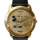 NEW Men's Disney Mickey Mouse SEIKO Symphony Hour 1942 Gold Limited Edition Watch HTF