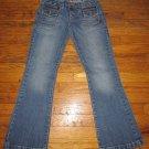 Aeropostale Kailer Skinny Flare Jeans Size 3/4 Short