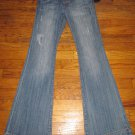 NWT Seven 7 Sexy Flare Premium Blue Jeans Size 7 or 28