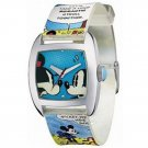 BRAND NEW Unisex Disney Mickey Mouse & Minnie Mouse Comic Watch HTF