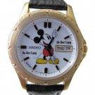 BRAND NEW Men's Disney Mickey Mouse SEIKO Date Day Watch HTF