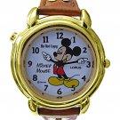 NEW Unisex Vintage Disney Lorus Mickey Mouse Talking Watch HTF